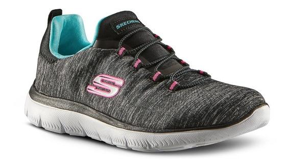 Zapatillas Skechers Mujer Running Summits Plantilla Memoria