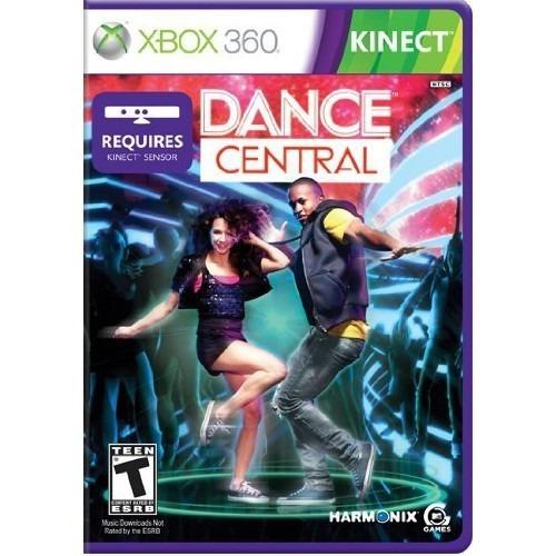 Dance Central Xbox 360 Mídia Física Semi Novo Kinect