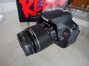 Canon T3i Com Lente 18/55 E 50 Mm Original 1500 Cliques