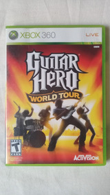 Guitar Hero World Tour Xbox 360 Original Completo