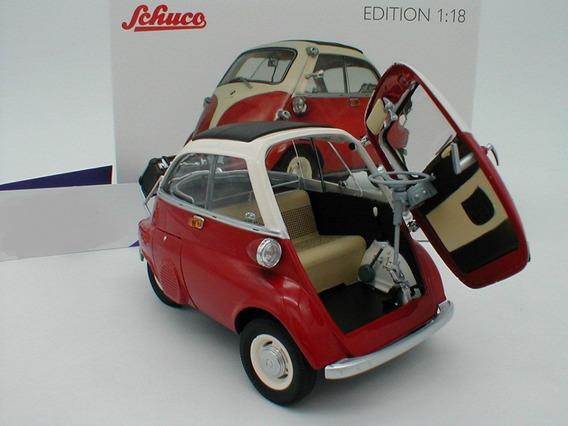 Miniatura Romiseta Iso Isetta Vermelha Schuco 1/18