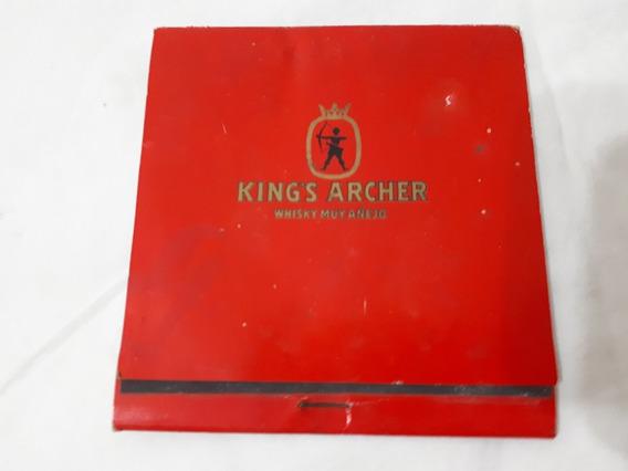 Caja De Fósforos Antigua King