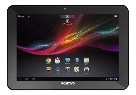 """Tablet Positivo T1060 10.1"""" 16GB preto com memória RAM 1GB"""