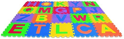 Edushape Edu-azulejos Letters, 26 Pieza