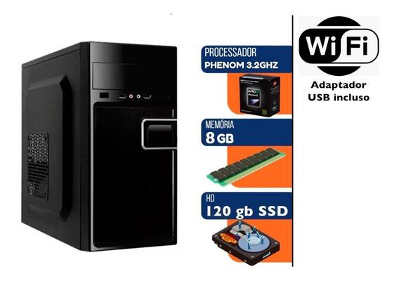 Computador Gamer - Amd Phenom 3.20ghz + Monitor Ultrawide Lg
