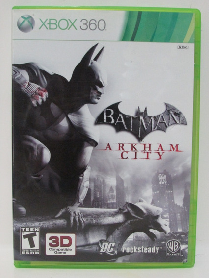 Batman Arkham City - Xbox 360 Original Completo Mídia Física