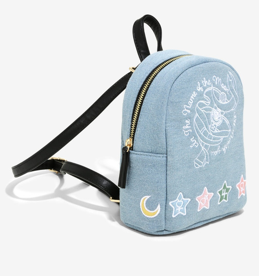 Mini Mochila Sailor Moon Luna Anime Girl Original Hottopic
