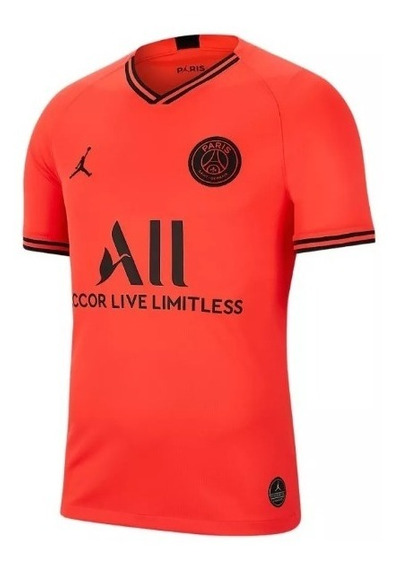 Camisa Psg Jordan Paris Saint Germain Futebol Bordada