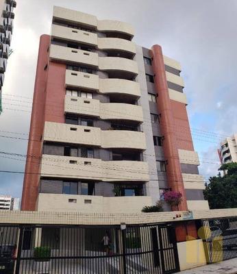 Apartamento Com 3 Dormitórios À Venda, 79 M² Por R$ 260.000 - Jatiúca - Maceió/al - Ap0477