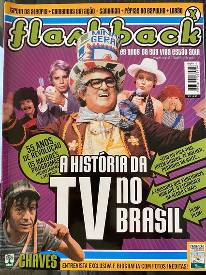Revista Flashback Nr 10 A História Da Tv No Brasil.