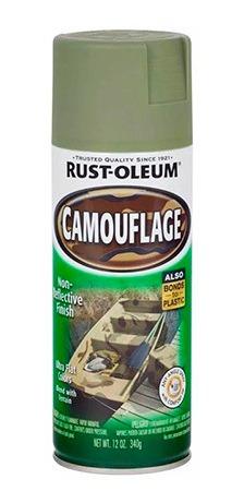 Aerosol Rust Oleum Camuflaje Verde Militar Especial Ocult Pa