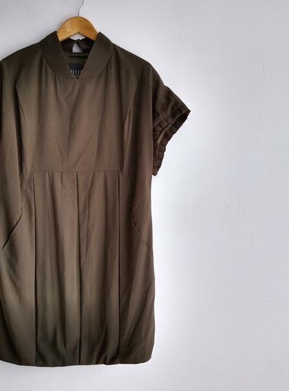 Vestido Com Pregas Spezzato - 38 40