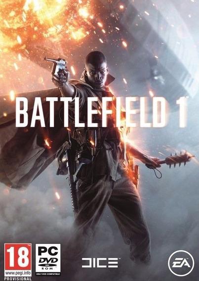 Battlefield 1 ( Mídia Física Dvd Ou Blu-ray Pc)