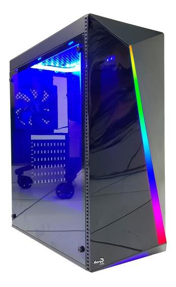 Pc Cpu Gamer Intel/ Core I7/ 16gb/ 1tb/gtx1050 4gb /wifi/led