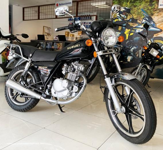 Motocicleta Suzuki Gn125 2020 Nueva