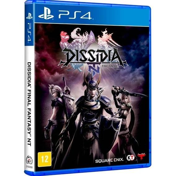 Dissidia Final Fantasy Nt Ps4 Midia Fisica Nacional Promoção