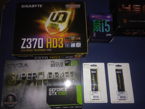 Kit I5-8400 / Gtx1060 / 8gb 2666mhz / Gigabyte Z370 Hd3