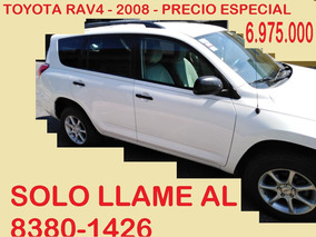 Toyota Rav4 4x2 - 6.975.000 Al 8380-1426