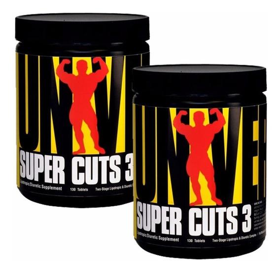 Super Cuts 3 Universal 2u X 130 Tabletas - Quemador De Grasa