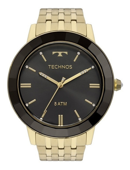 Relógio Technos Feminino Elegance Crystal Original Com Nf-e