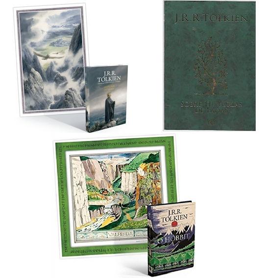 Coleção Tolkien 3 Livros Filhos De Hurin; Hist Fadas; Hobbit
