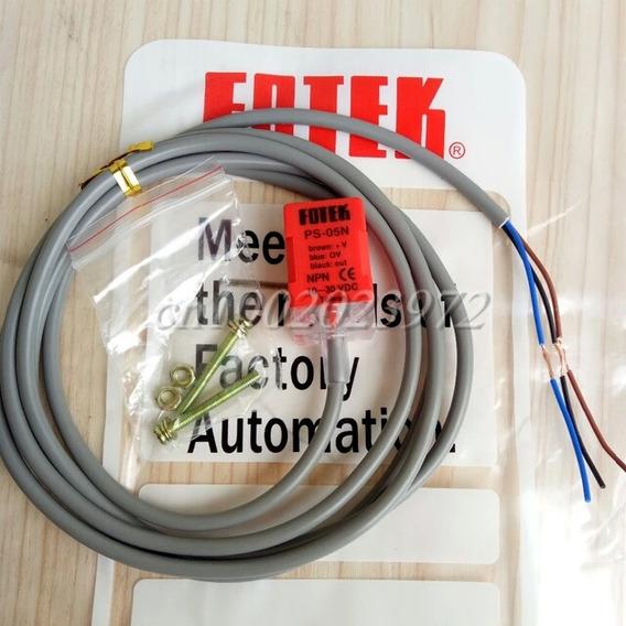 Sensor Quadrado Indutivo Fotek Npn Na Ps05n 10/30vdc 5mm