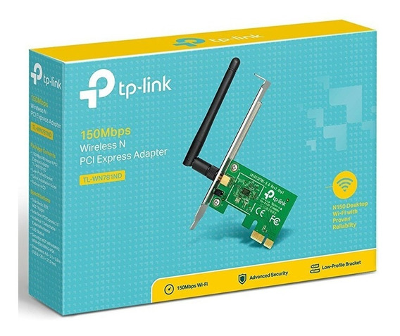 Placa De Red Inal Wifi Pci-express Tp-link Tl-wn781nd