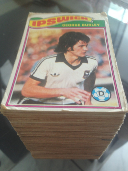Card Futebol Ingles Topps Gum Lote Com 195