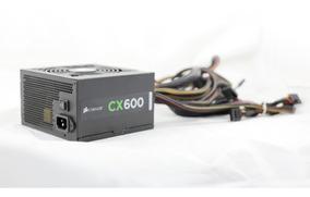 Fonte Corsair Cx600 600watts Pc Gamer 80 Plus Bronze