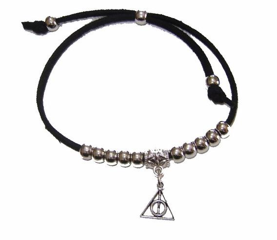 10 Pulsera Reliquias Harry Potter Gamuza Dijes Souvenirs