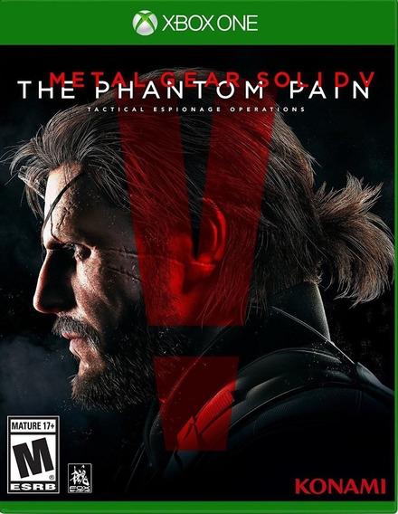 Jogo Metal Gear Solid V Phantom Pain Xbox One Física Usado