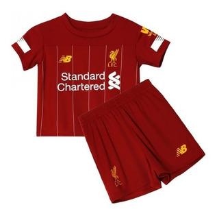 Conjunto Infantil Liverpool Novo 2019-20 ( Pronta Entrega )