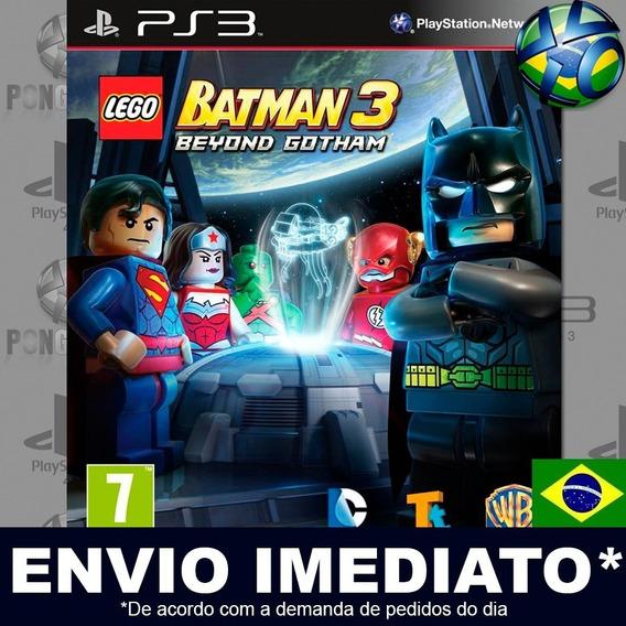 Lego Batman 3 Beyond Gotham Ps3 Psn Dublado Português Pt Br
