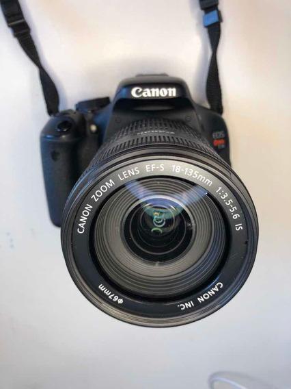 Cânon Eos Rebel T3i + Lente Ef-s 18-135mm