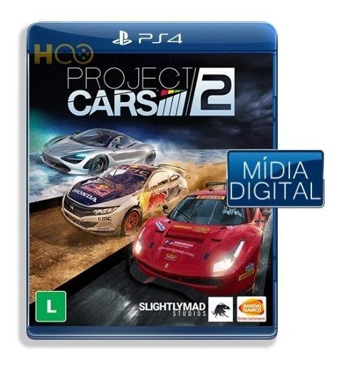 Project Cars 2 - Ps4 Cod Psn I Entrega Imediata