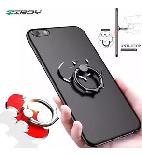 Soporte Anillo De Lujo Batman Dedo Celular Smartphone Alumin