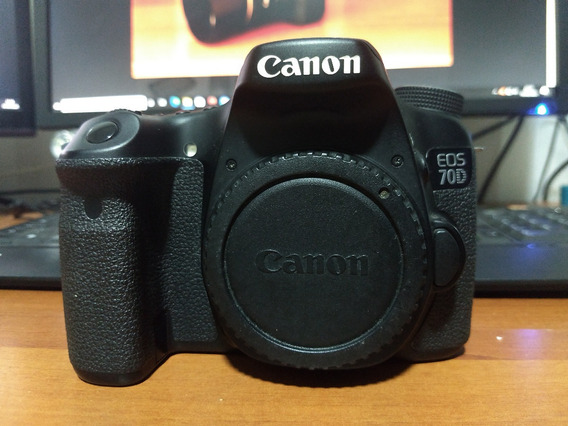 Câmera Canon 70d, Apenas 24k Clicks + Lente 50mm F/1.4