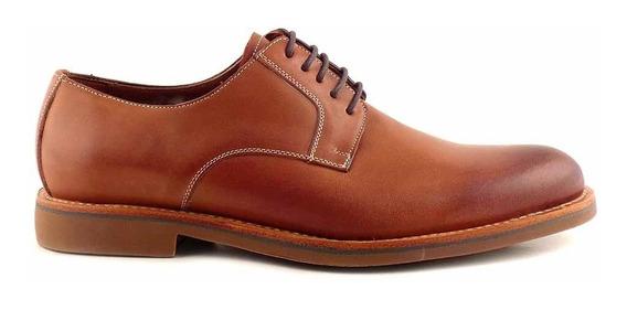 Zapato Cuero Hombre Briganti Sport Vestir Confort