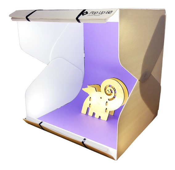 Mini Estúdio Portátil Mutu Pop Up 60 Ilumin. Led Fotográfia
