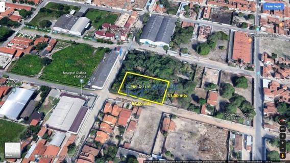 Terreno À Venda, 2666 M² Por R$ 1.500.000 - Passaré - Fortaleza/ce - Te0125