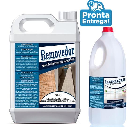 Kit Removedor Manchas E Enacardidos E Impermeabilizante