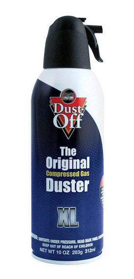 Spray Ar Comprimido Dust Off 300ml Original Limpeza Dslr