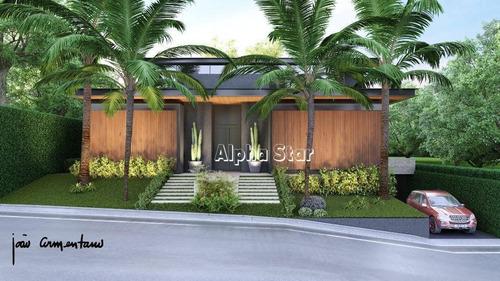 Casa Com 4 Dormitórios À Venda, 647 M² Por R$ 10.500.000 - Alphaville 01 - Barueri/sp - Ca3500