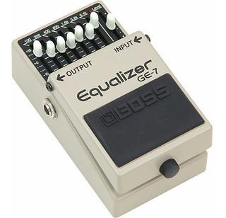 Pedal Ecualizador Para Guitarra Ge7 Boss