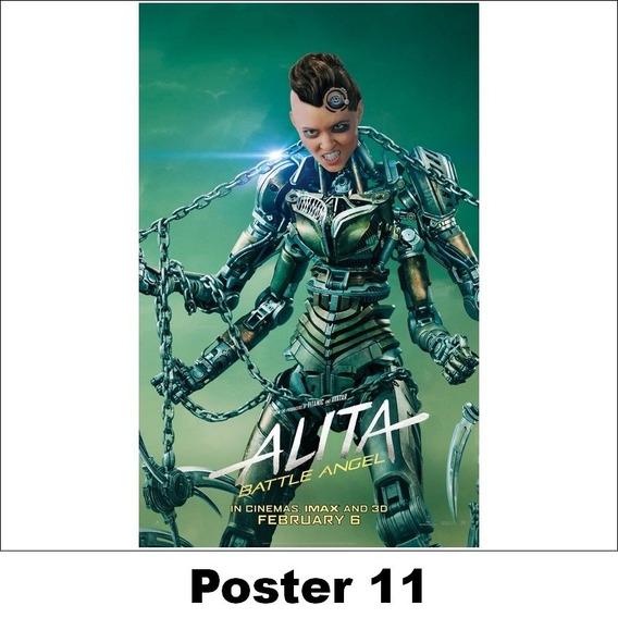 Poster Alita 30x42 Anjo De Combate (11)