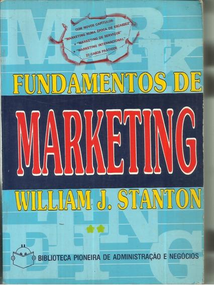 Fundamentos De Marketing William J. Stanton 2º Volume 1980