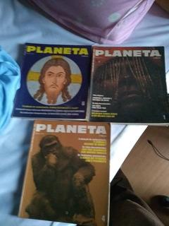 Revistas Planeta N. 1, 4 E 6 Ano 1972 Frete Grátis