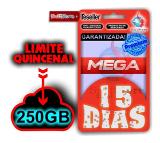 Cuenta Premium Mega 15 Días (250gb, Garantizada!)