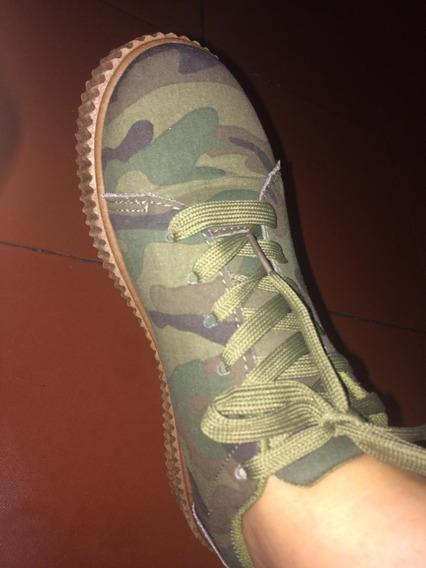 Zapatos Camuflajeados Dama Talla 38 Bigstar