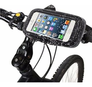 Soporte Funda 360 Moto Bicicleta Celular Glovo Impermeable